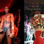 Left: Marc Jacobs Holiday Party, Right: Tulips and Pansies